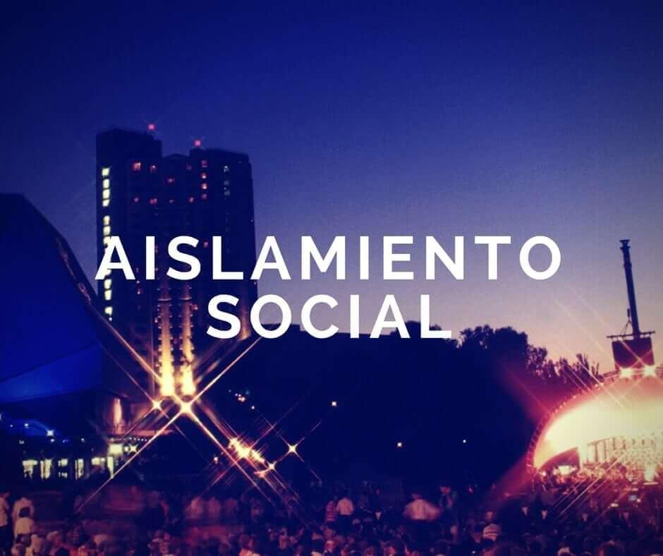 Aislamiento social